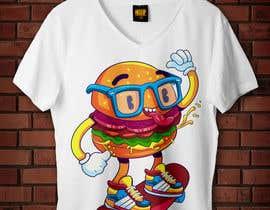 nº 10 pour Skate Related T-shirt design par badreouzzine