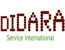 #46 para Diseñar un logotipo for DIDARA SERVICE INTERNATIONAL de nancy1114