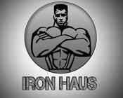 Logo Design for Iron Haus Bodybuilding için Graphic Design80 No.lu Yarışma Girdisi