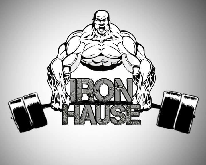 Contest Entry 82 For Logo Design Iron Haus Bodybuilding