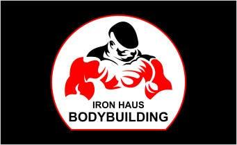 Конкурсная заявка №7 для Logo Design for Iron Haus Bodybuilding