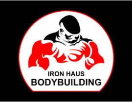 nº 7 pour Logo Design for Iron Haus Bodybuilding par sirrom