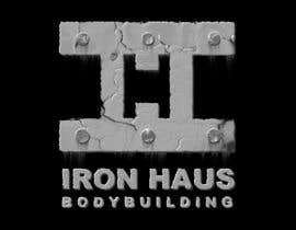 nº 9 pour Logo Design for Iron Haus Bodybuilding par GlenTimms