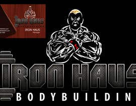 nº 142 pour Logo Design for Iron Haus Bodybuilding par alinhd