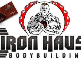 nº 143 pour Logo Design for Iron Haus Bodybuilding par alinhd