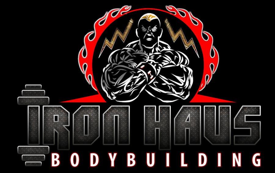 Contest Entry 125 For Logo Design Iron Haus Bodybuilding