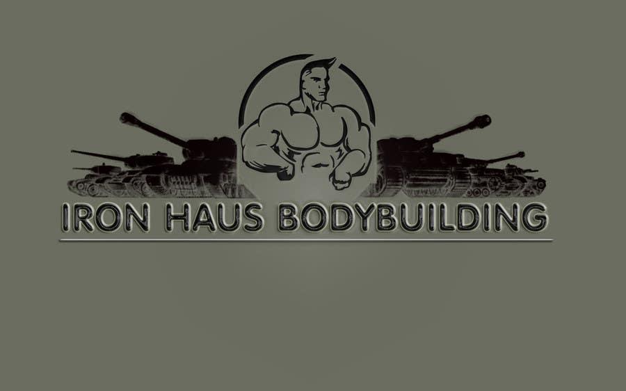 Конкурсная заявка №42 для Logo Design for Iron Haus Bodybuilding