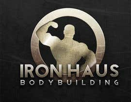 nº 13 pour Logo Design for Iron Haus Bodybuilding par Paola3331
