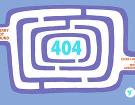 nº 47 pour Design a creative 404 page for Freelancer.com par kikamiks