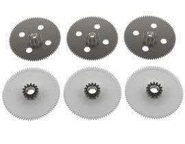 nº 17 pour Simple 3D illustration of metal/plastic gears par ceanet
