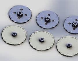 nº 8 pour Simple 3D illustration of metal/plastic gears par palyokhan