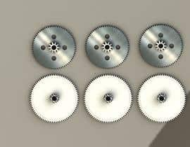 nº 13 pour Simple 3D illustration of metal/plastic gears par palyokhan
