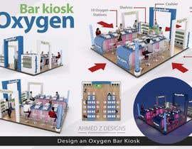 nº 69 pour Create an oxygen bar kiosk. par ahmedzaghloul89
