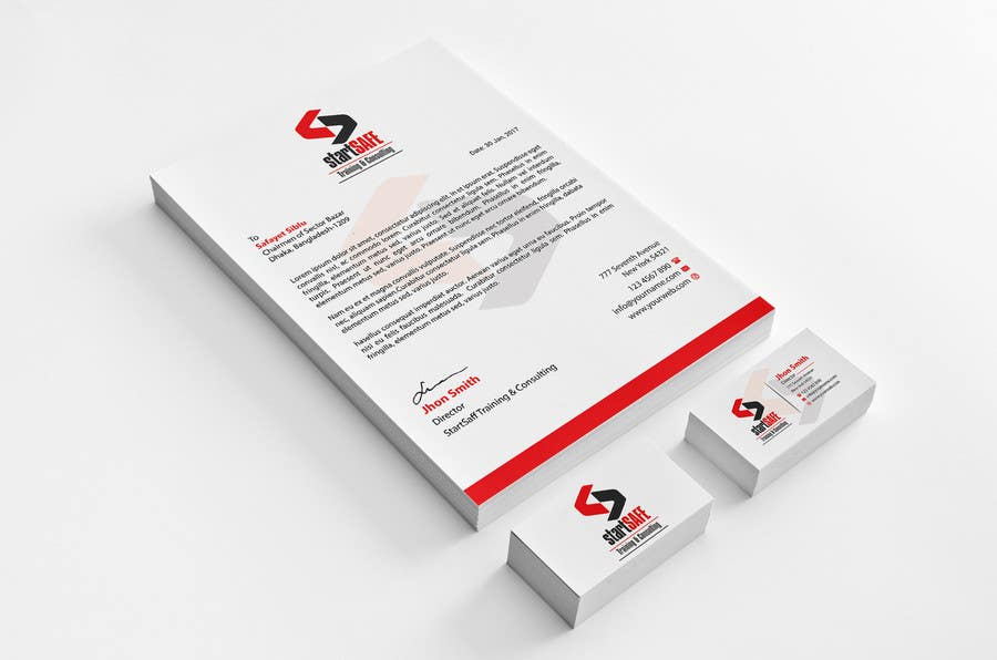 Entry #186 by Jadid91 for New Business Card & Letterhead Design ...