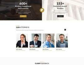 nº 9 pour Design a Website Mockup for an insurance company par Sumon3322