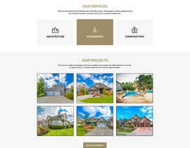 nº 9 pour Website for an Architecture, Engineering and Construction Company par gravitygraphics7