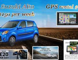 """nº 18 pour Design 2 banners """"Don't get a lost!"""" and """"Suzuki Alto $150 per week"""" par gokulfreelancher"""