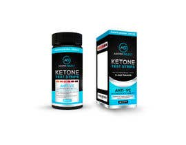 nº 26 pour Create a Label and Packaging  for my ketone test strips product. par orientecreativo