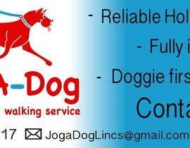 nº 17 pour Branding for a dog walking company! par chr1sann