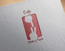 nº 104 pour Design a Logo for 1by2 Cafe par NemanjaStupar