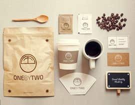 nº 61 pour Design a Logo for 1by2 Cafe par threebee