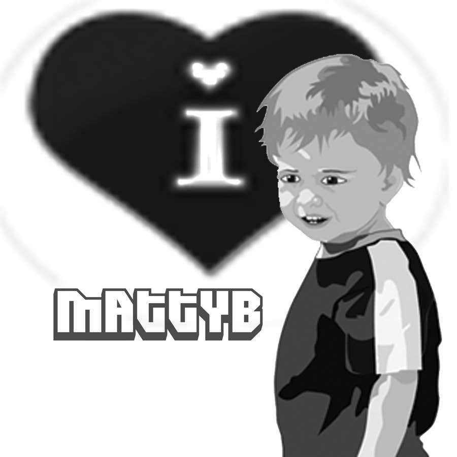 Kilpailutyö #33 kilpailussa Cool T-shirt Design for MattyBRaps