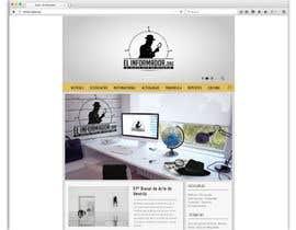 nº 6 pour Make a sketch design for the project El Informador / Hacer un boceto para el diseño web de El Informador par rosariozamudio