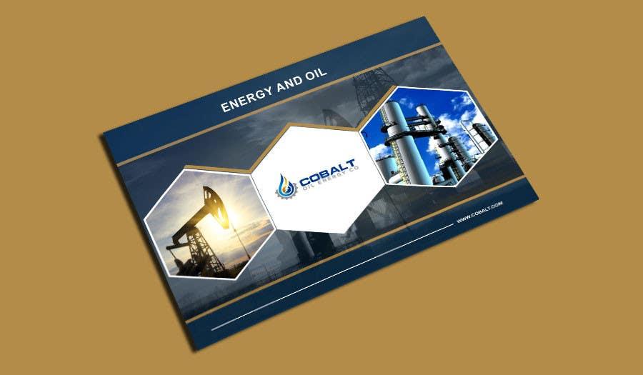 Proposition n°41 du concours Cobalt Oil Energy poster cover