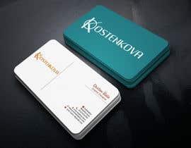 nº 110 pour Design some Business Cards par durlavbala