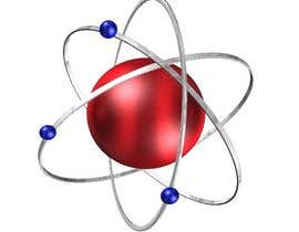 nº 8 pour Design an image of an atom and electrons par padigir