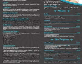 #37 for Design a day spa flyer (size A4) by thranawins