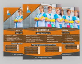 nº 43 pour Design an a5 flyer for a cleaning business par Forhad95s