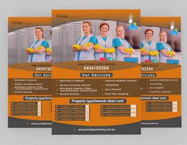 nº 48 pour Design an a5 flyer for a cleaning business par Forhad95s
