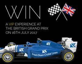 nº 13 pour Design a Banner for Formula 1 competition par kevcoyle8