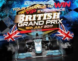 nº 101 pour Design a Banner for Formula 1 competition par ericzgalang