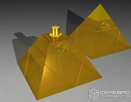 nº 29 pour Design a Pyramid themed cologne bottle par flashknight33