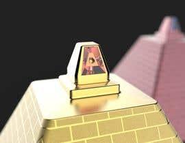 nº 22 pour Design a Pyramid themed cologne bottle par Hridoycufl