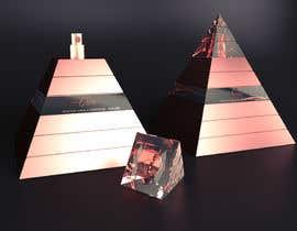 nº 42 pour Design a Pyramid themed cologne bottle par Rozairo