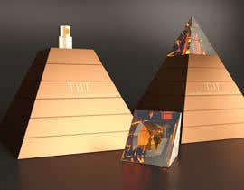 nº 43 pour Design a Pyramid themed cologne bottle par Rozairo