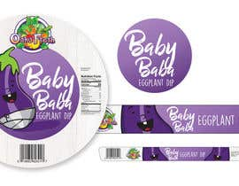nº 20 pour Create Print and Packaging Designs for Hawaii Farm Eggplant Hummus (babaganouch) Deli Container par kempendesign57