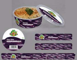 nº 5 pour Create Print and Packaging Designs for Hawaii Farm Eggplant Hummus (babaganouch) Deli Container par SurendraRathor