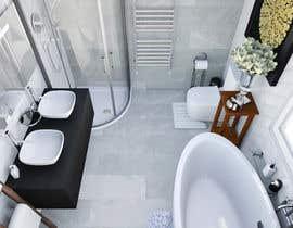nº 24 pour Design my bathroom layout par nhitran3dartist
