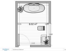 nº 30 pour Design my bathroom layout par nhitran3dartist