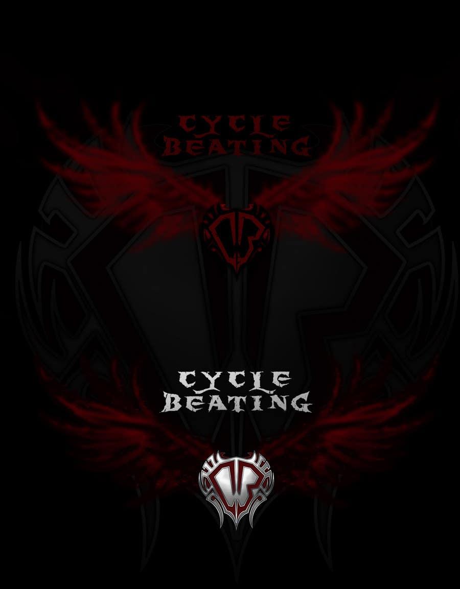 Конкурсная заявка №118 для Logo Design for heavy metal band CYCLE BEATING