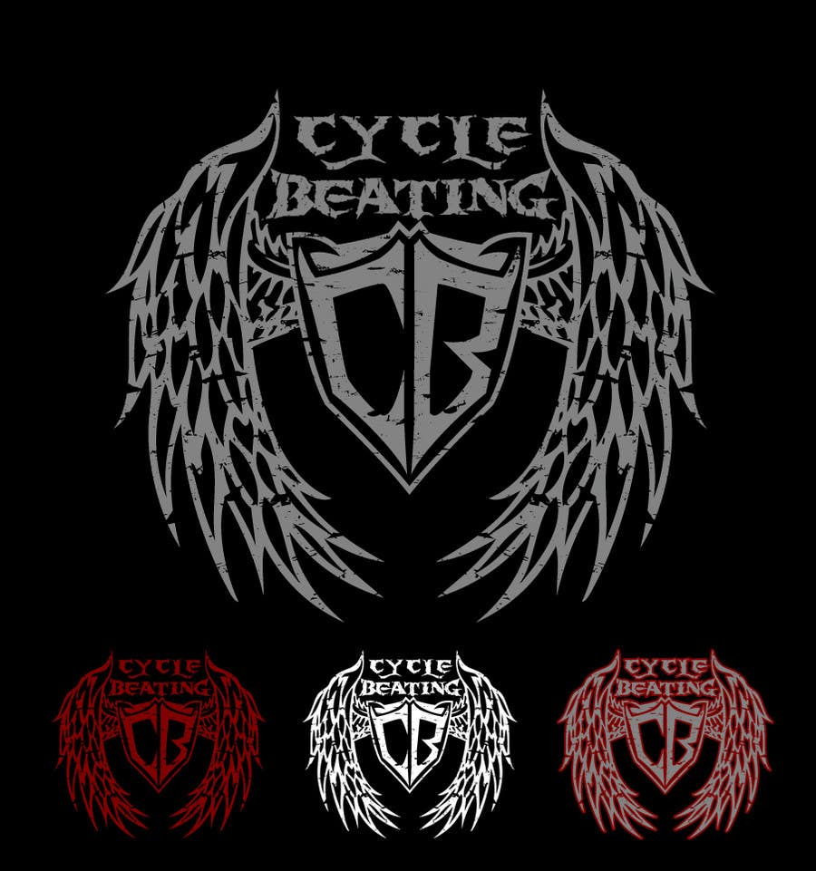 Penyertaan Peraduan #141 untuk Logo Design for heavy metal band CYCLE BEATING