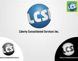 robertlopezjr tarafından Logo Design for LCSI Liberty Consolidated Services Inc. için no 9