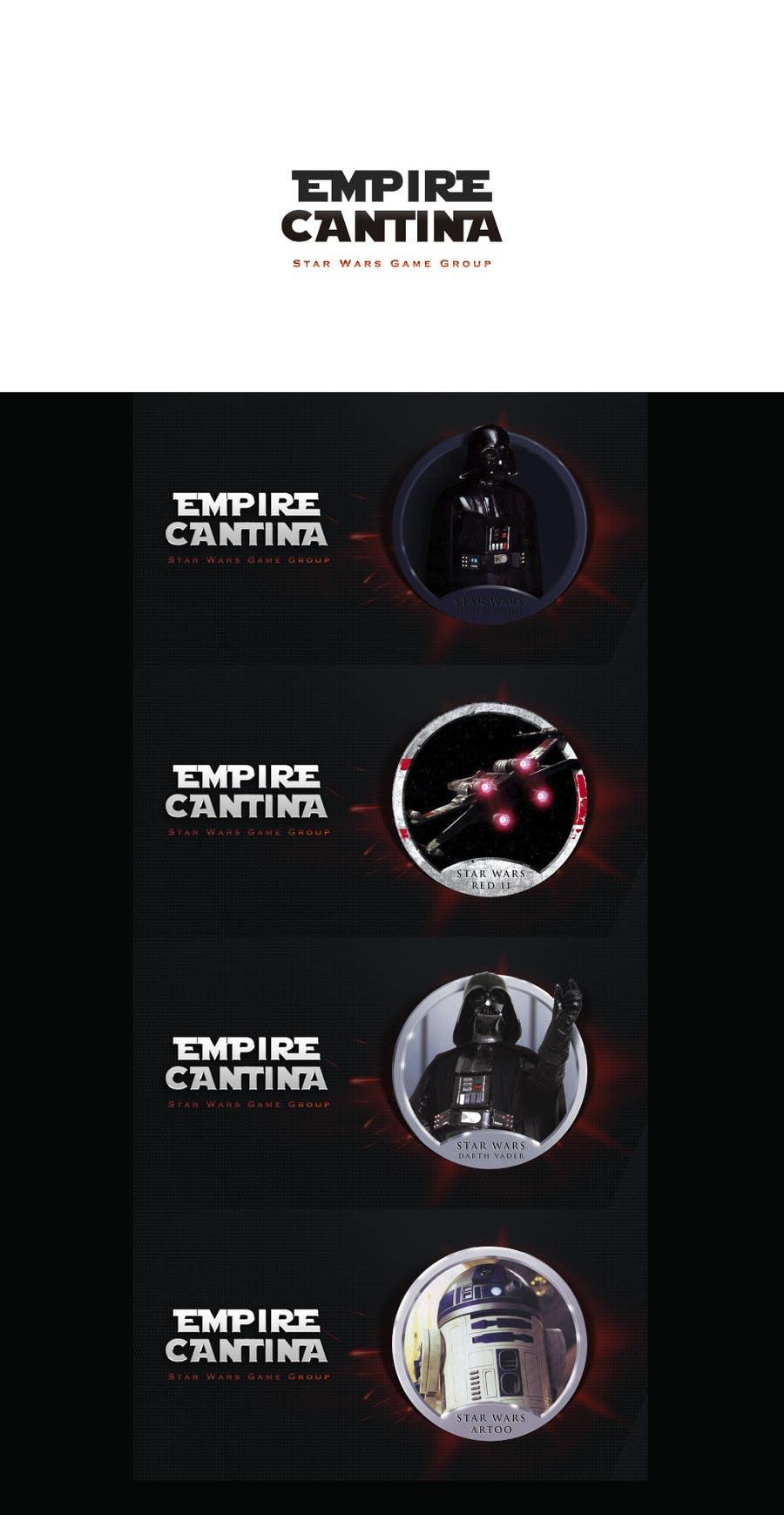 Proposition n°11 du concours Star Wars Game Group Logo Design