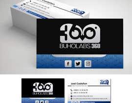nº 55 pour Identidad Corporativa,  BuhoLabs 360 par RosannyOrocopey