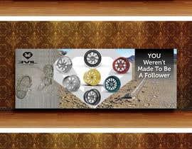 nº 41 pour Design an Advertisement For Luxury Wheel (Rims) par karimulgraphic