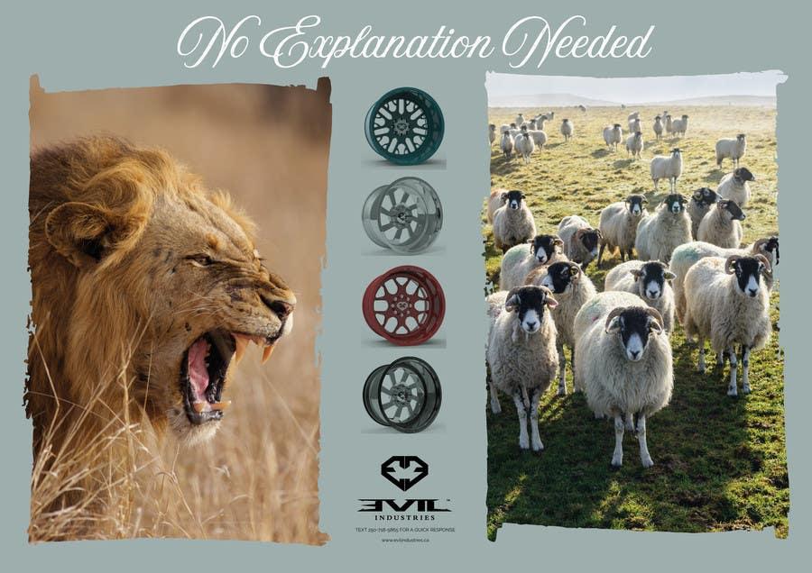 Proposition n°37 du concours Design an Advertisement For Luxury Wheel (Rims)